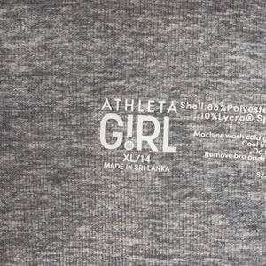 Athleta Other - Grey sports bra